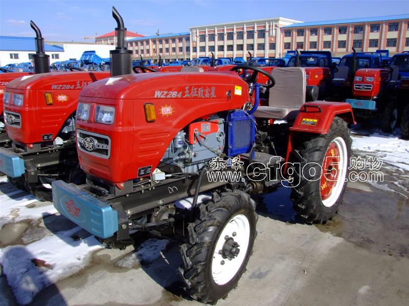 五征致富星wz284系列拖拉机 开运农机公司